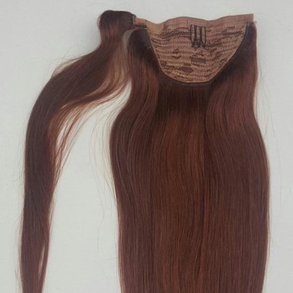Hair Faux You Accessories 18 Human Hair Ponytail Hair Extensions